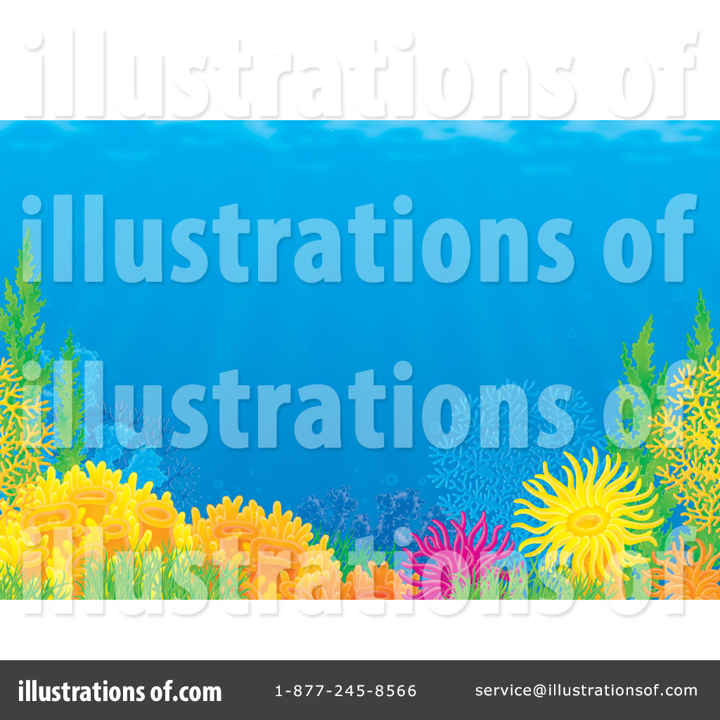 Reef Clipart  38873 By Alex Bannykh   Royalty Free  Rf  Stock