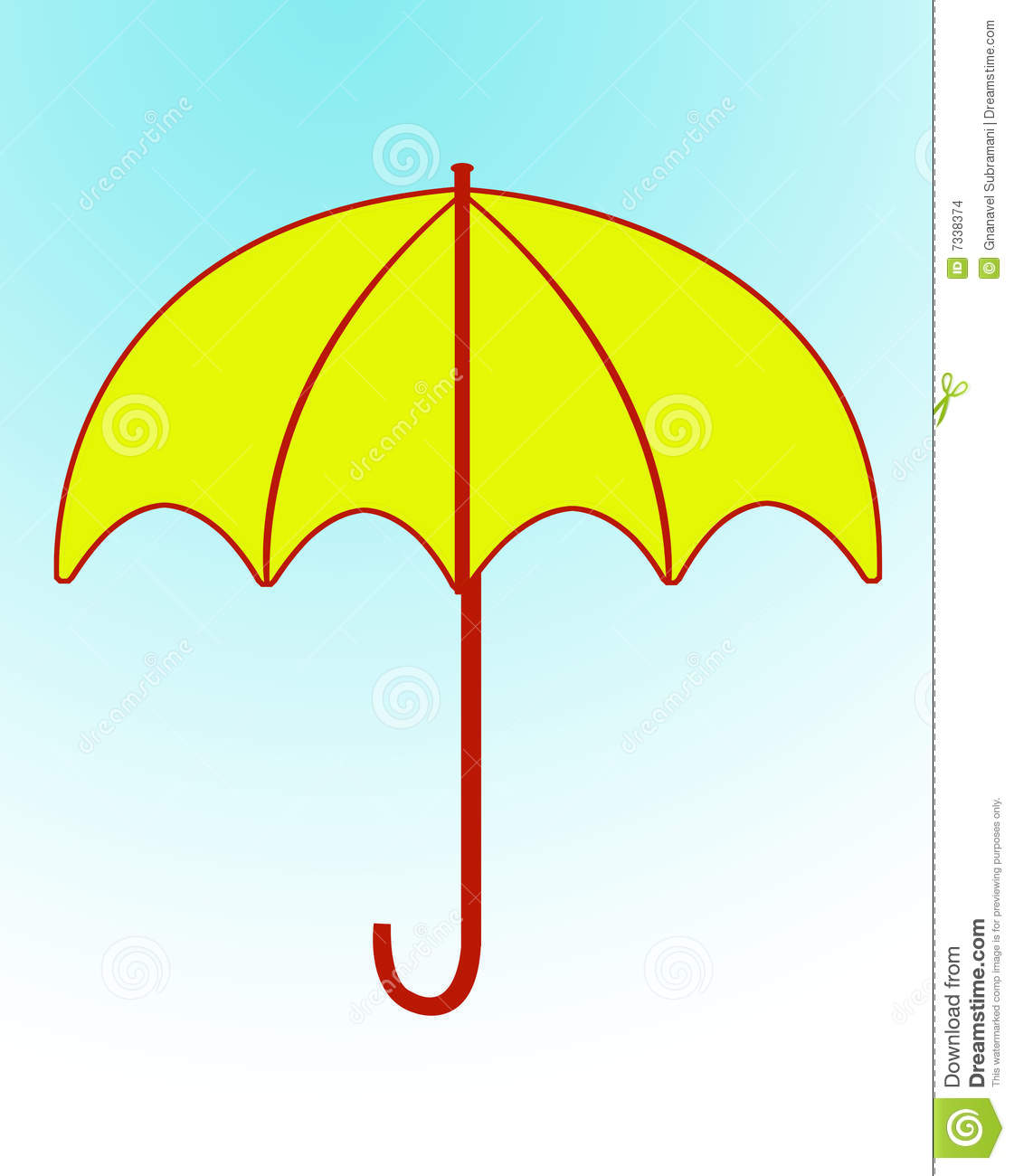 Yellow Umbrella Clip Art Red Umbrellas Clipart Yellow