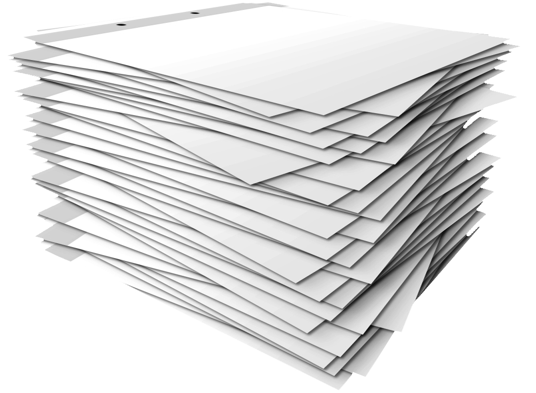 paper stack clipart - photo #9