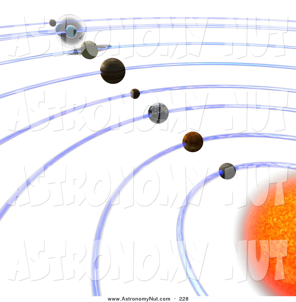 Solar System Orbit Clipart - Clipart Suggest