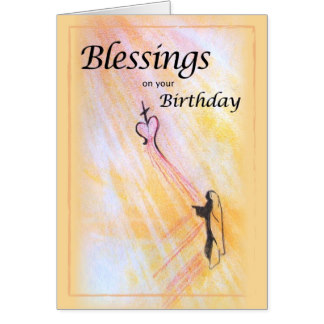Birthday Blessings Religious Cards