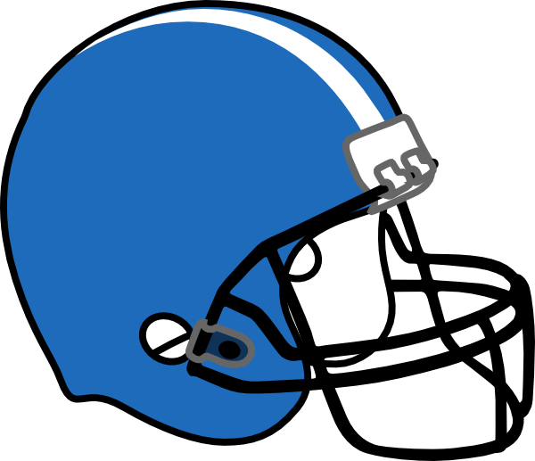 Blue Football Helmet Clipart   Clipart Panda   Free Clipart Images