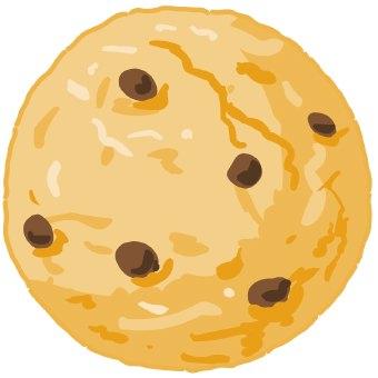 Clip Art Chocolate Chip Cookie Clip Art chocolate chip cookie clipart kid clip art of a large or oatmeal raisin cookie
