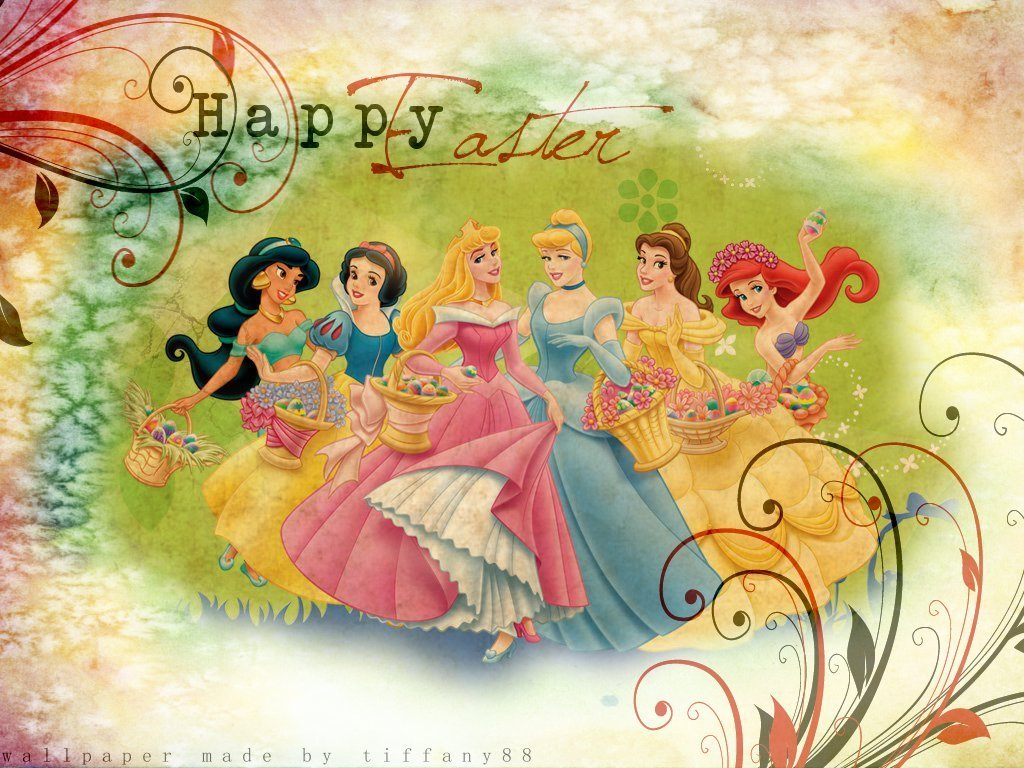 Disney Princess Easter   Happy Easter All My Fans Wallpaper  30153768