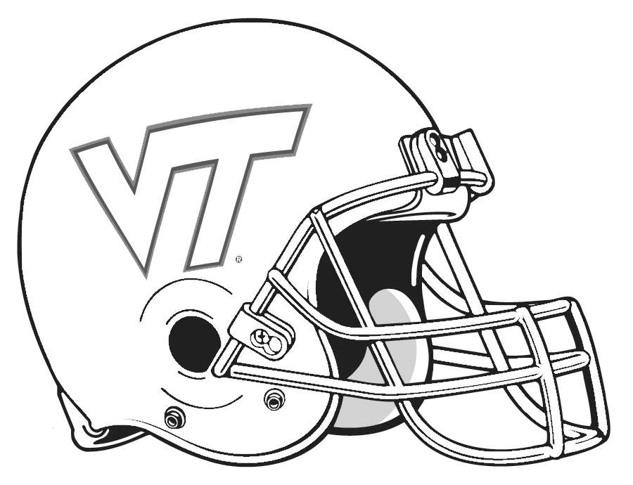Football Helmet Free Printable Coloring Pages   Hagio Graphic