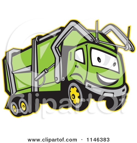 Garbage Truck Clip Art   Item 3   Vector Magz   Free Download Vector