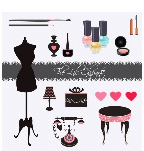 Princess Nail Art Salon Manicure Game For Girls Free: Girly Makeup Clipart