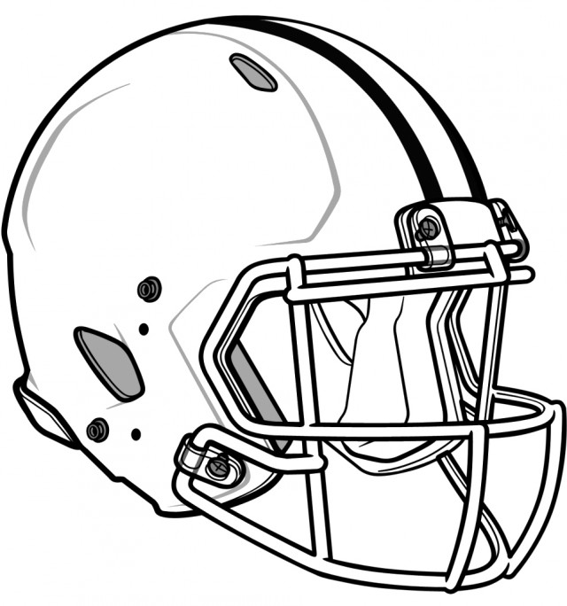 Nfl Football Helmets Coloring Pages Nfl Football Helmet Coloring Pages