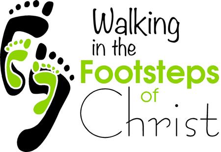 Jesus Footsteps Clip Art