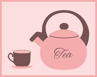 Pink Teapot Stock Illustrations Vectors   Clipart    357 Stock
