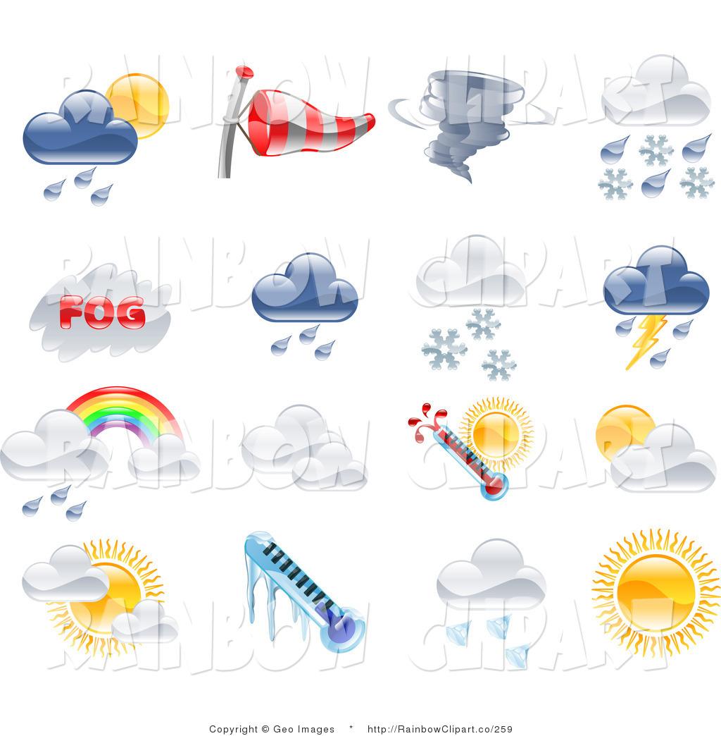 Rainbow Clip Art   Geo Images