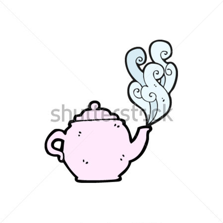 Roze Theepot Cartoon Clip Arts   Clipartlogo Com