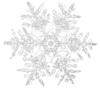 Snowflakes Clip Art At Clker Com   Vector Clip Art Online Royalty