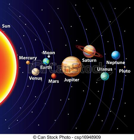 solar system clipart - photo #12