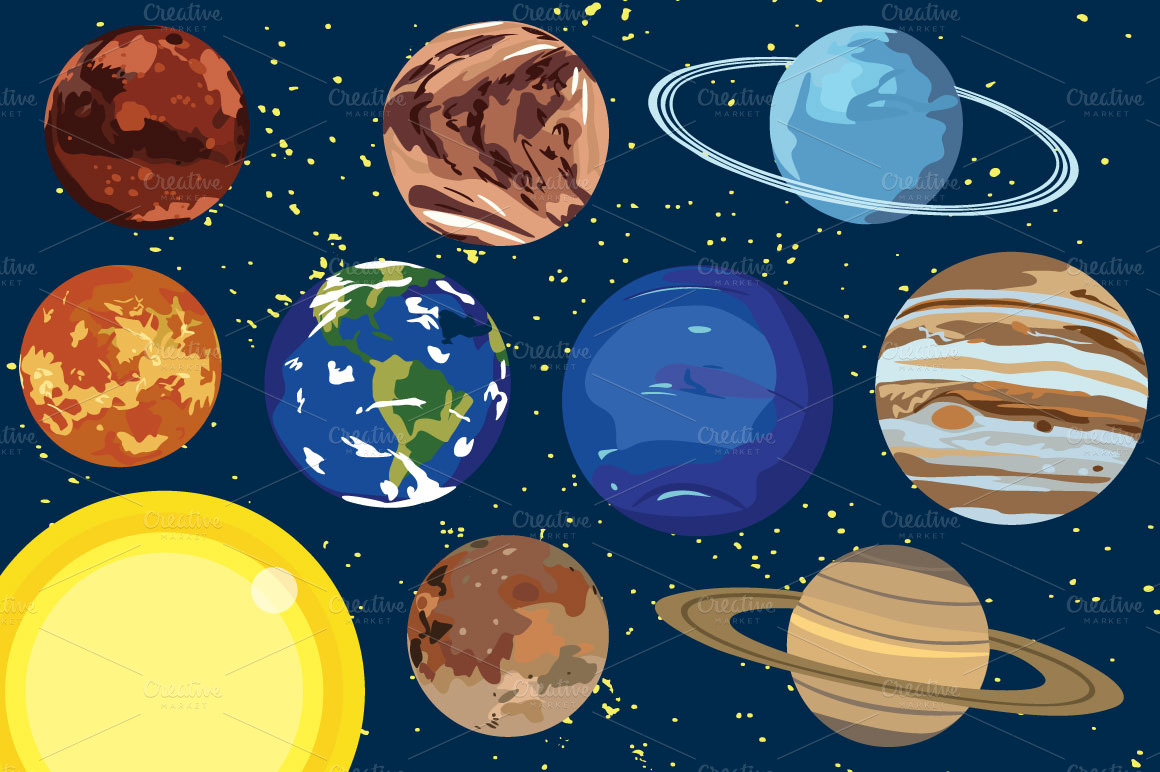 Solar System Clipart - Clipart Suggest