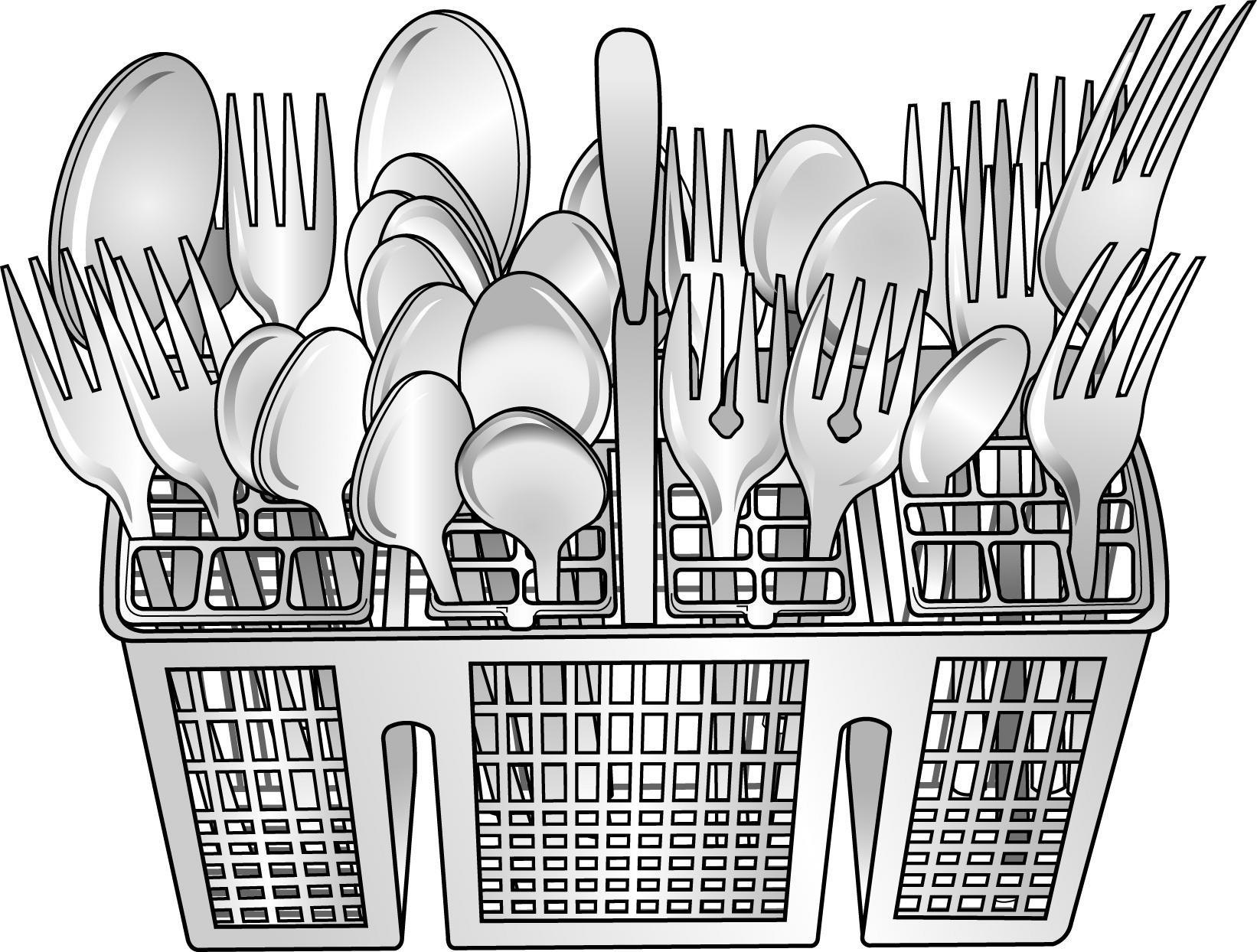 Dishwasher Clip Art ~ Dishwasher cartoon clipart suggest