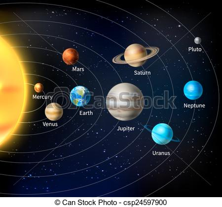 clipart planets solar system - photo #39