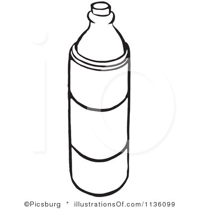 Water Bottle Coloring Page   Clipart Panda   Free Clipart Images