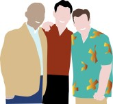 African American Usher   Church People Clipart