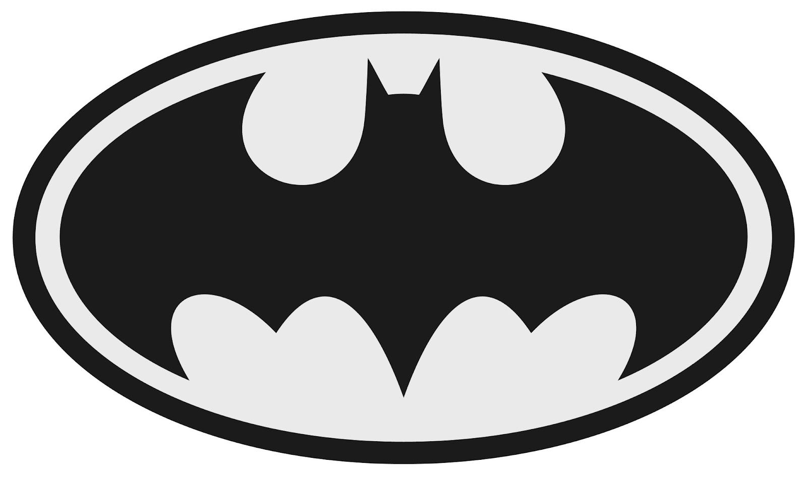 Batman Clipart Black And White   Clipart Panda   Free Clipart Images