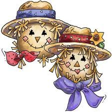 Clipart Fal Painted Scarecrows Fall Clipart Scarecrow Clipart