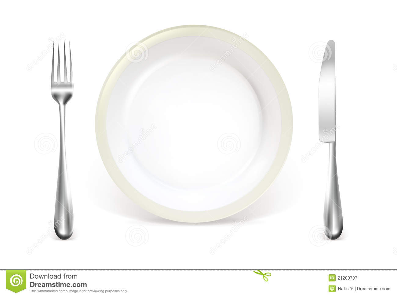 Elegant Place Setting Clipart Dinner Place Setting
