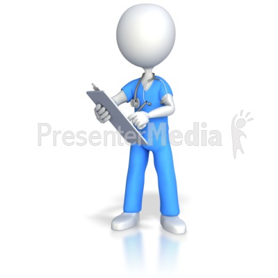 Nurse Doctor Surgeon Charting   Medical And Health   Great Clipart For
