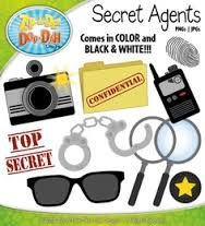 Secret Agents Clip Art   Google Search   Secret Agents    Pinterest