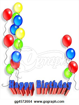 50th Birthday Balloons Clip Art Images   Pictures   Becuo
