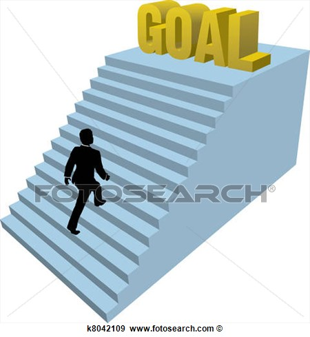 Art   Business Person Climbs Steps Achiev  Fotosearch   Search Clipart