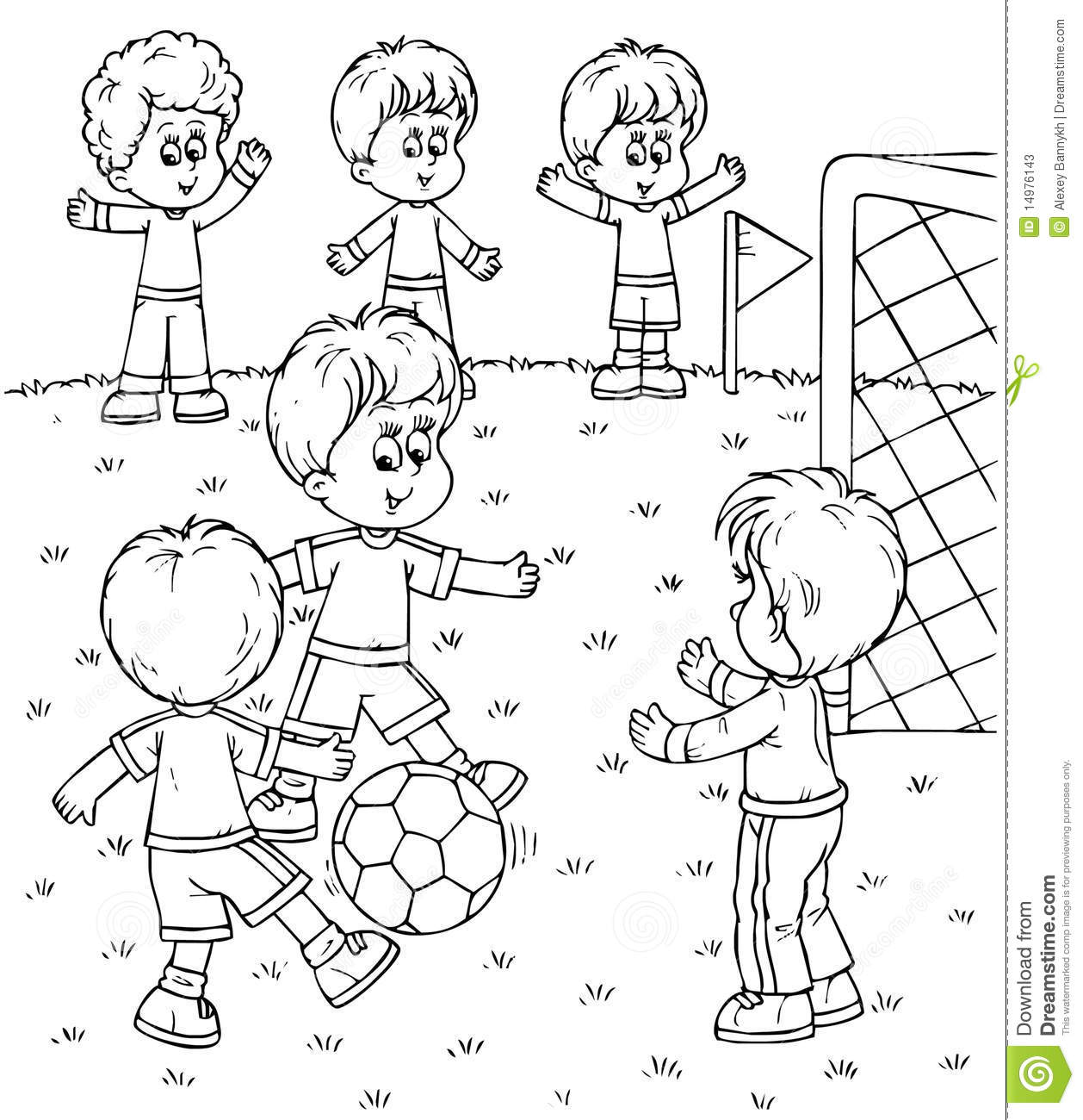 Play Black And White Clipart - Clipart Kid