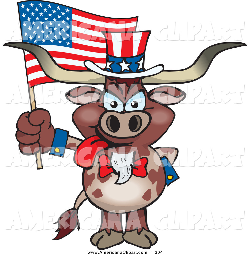 Flag Day On Independence Clipart