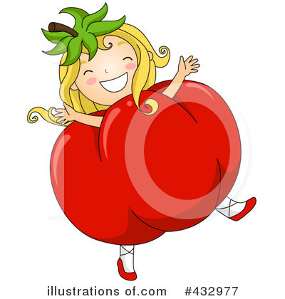 Royalty Free Rf Tomato Illustration 432977 By Bnp Design Clipart