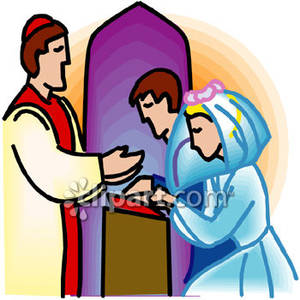 Showing Gallery For Sacrament Of Marriage Clipart