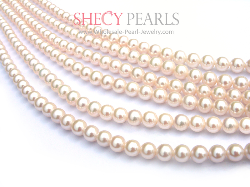 Strand Pearls  7mm 8mm  Aaa S Fwr78   Shecypearls Strand Pearls