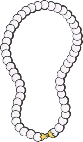 Strand Of Pearls Clipart - Clipart Suggest