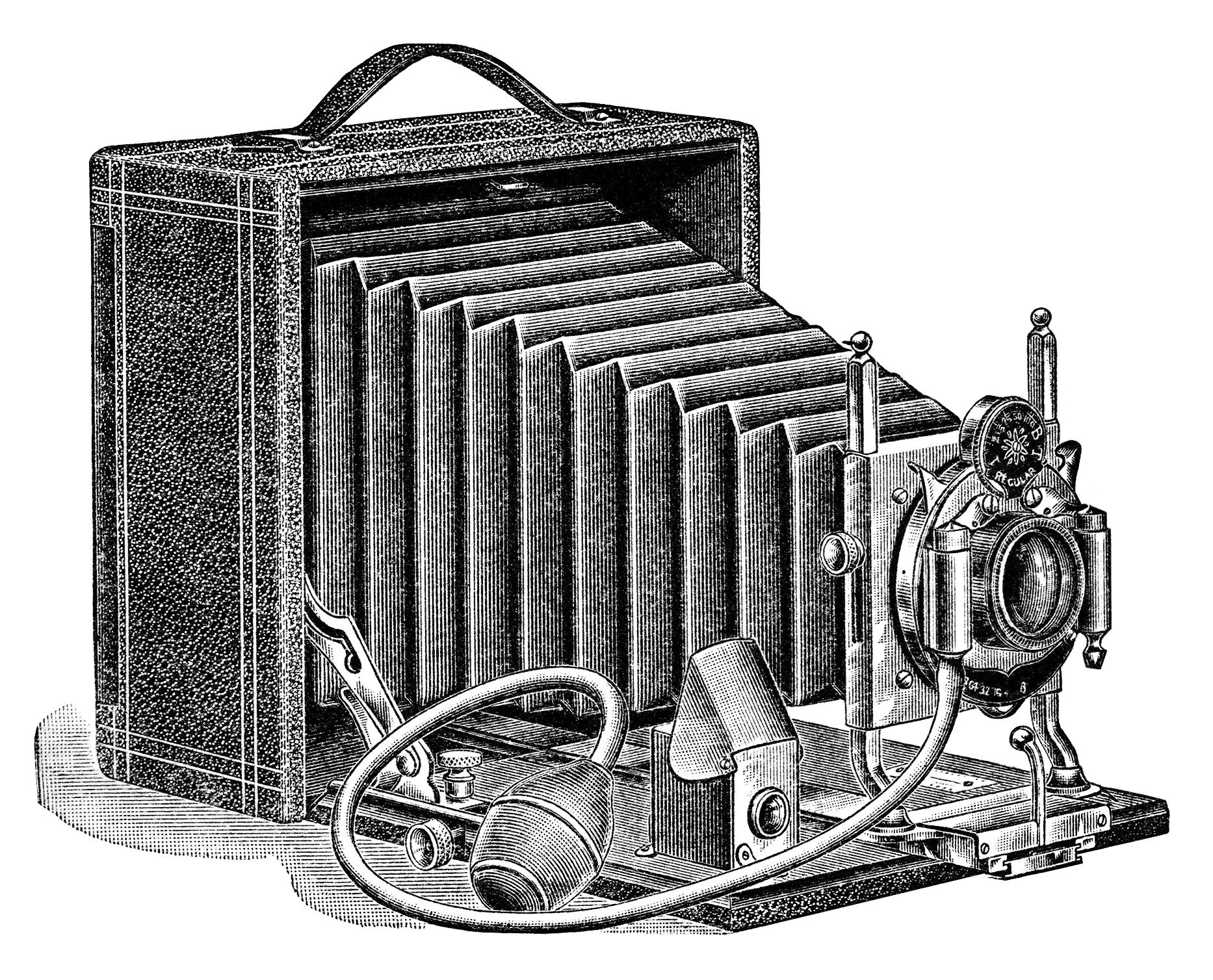 Clipart Antique Camera Illustration Vintage Camera Clip Art Seroco