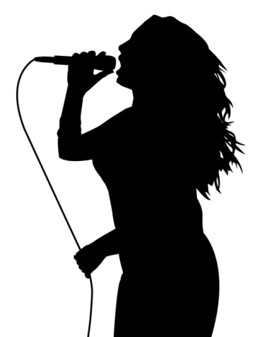 Woman Singer Clipart - Clipart Kid