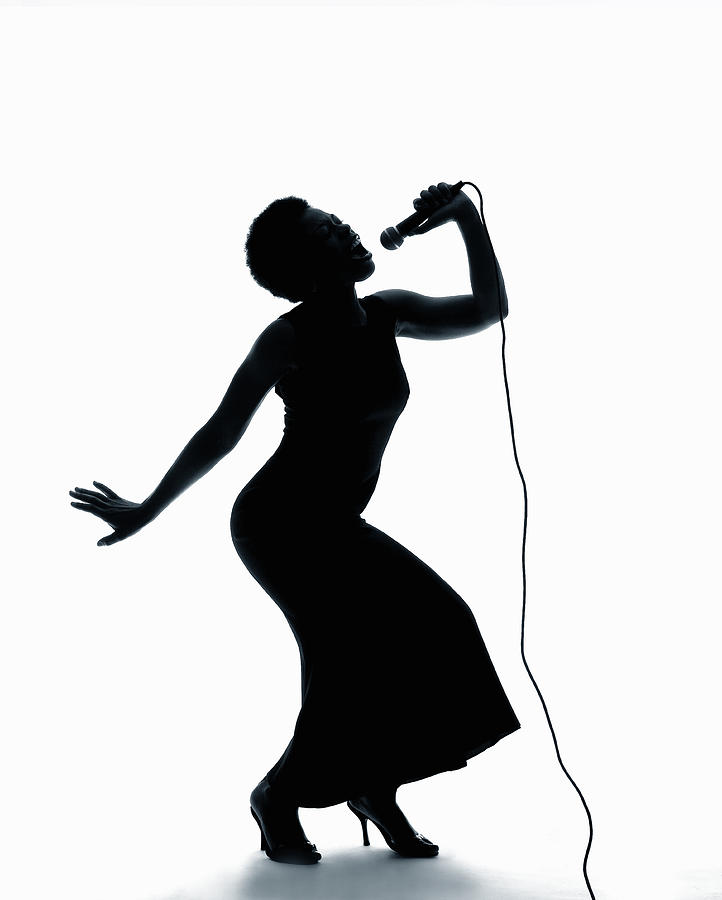 Male Singer Silhouette Clipart - Clipart Suggest