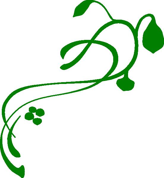 Green Swirls Clipart - Clipart Kid