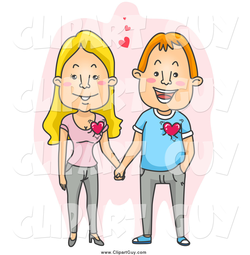 Happy Couple Clip Art