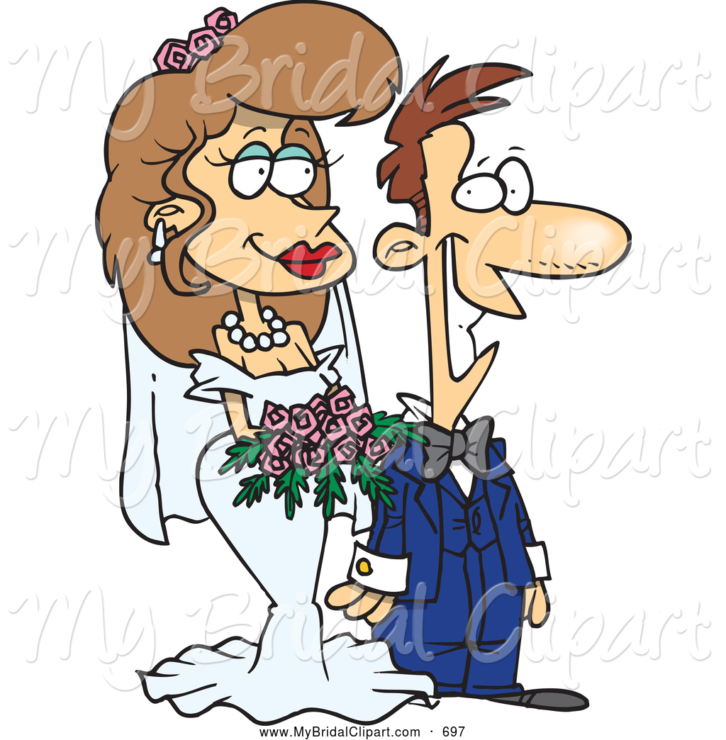 Larger Preview Vector Marriage Clipart Wedding Happy Couple
