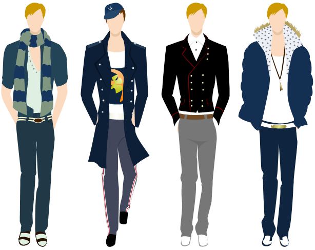 Men Clothing Design Examples