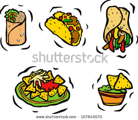 Mexican Food Clipart Mexican Food Clip Art