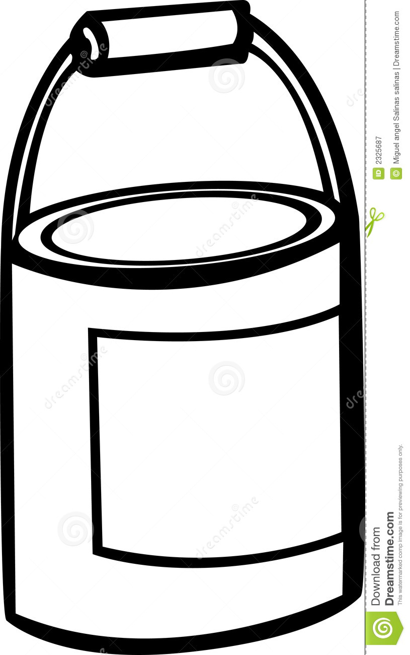 Paint Bucket Clip Art Paint Bucket Vector Illustration 2325687 Jpg