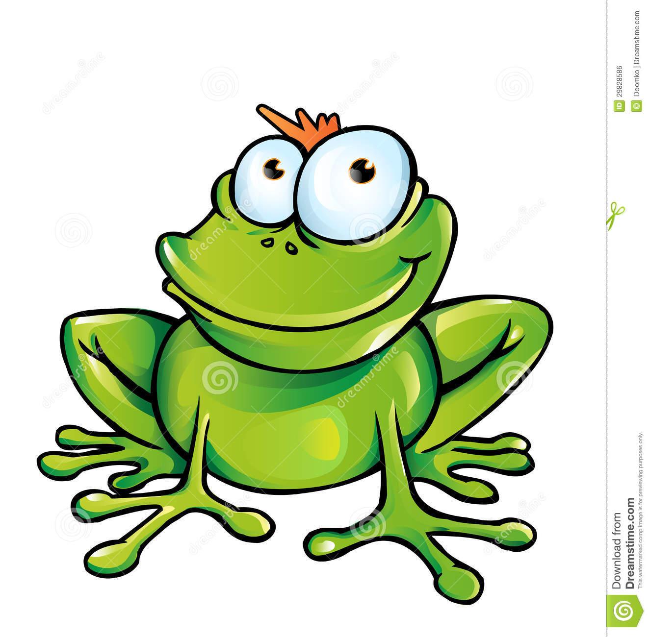 Cartoon Frog Clipart - Clipart Kid