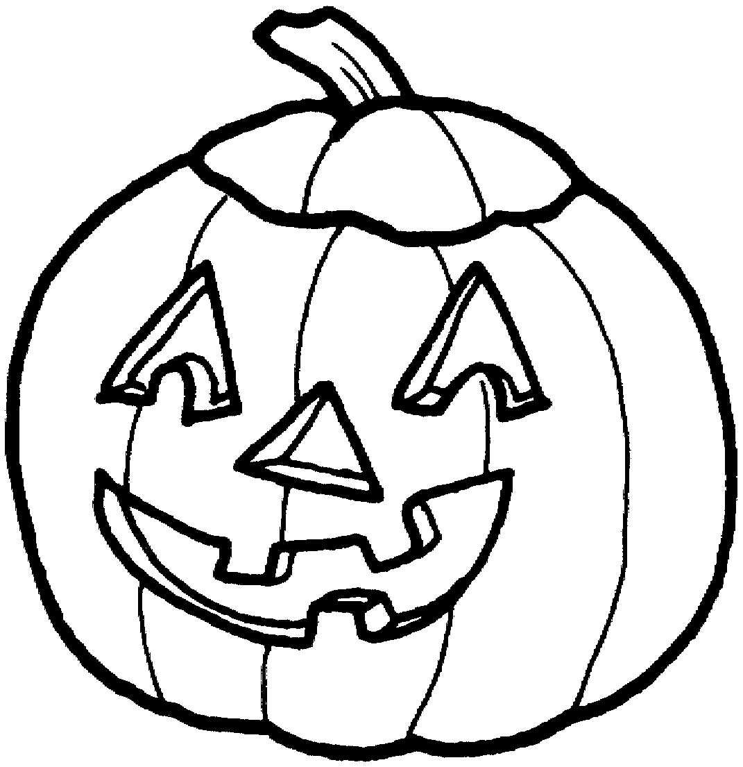 Pumpkin Line Drawing