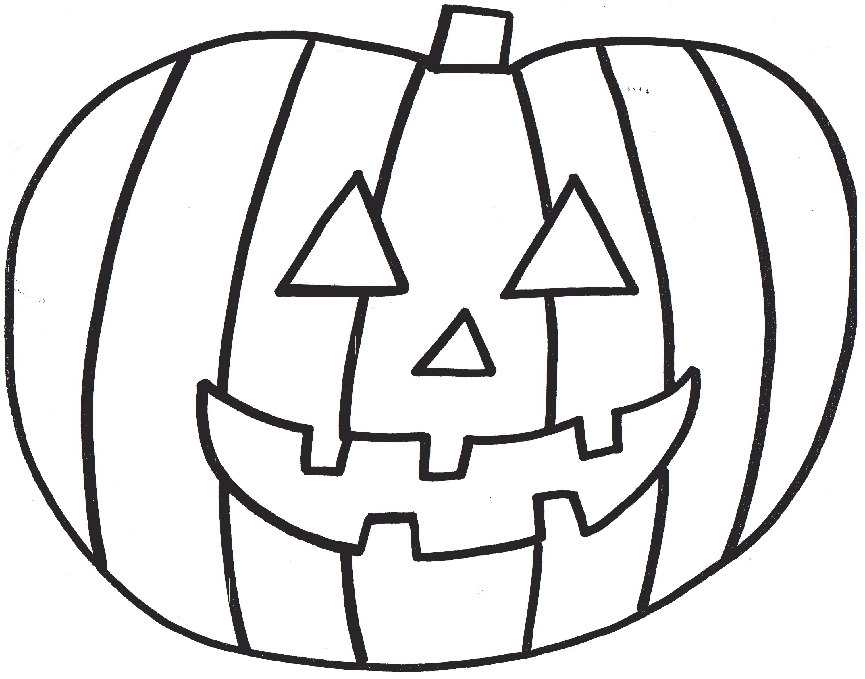 Pumpkin line clipart clipart suggest for Pumpkin seed coloring page