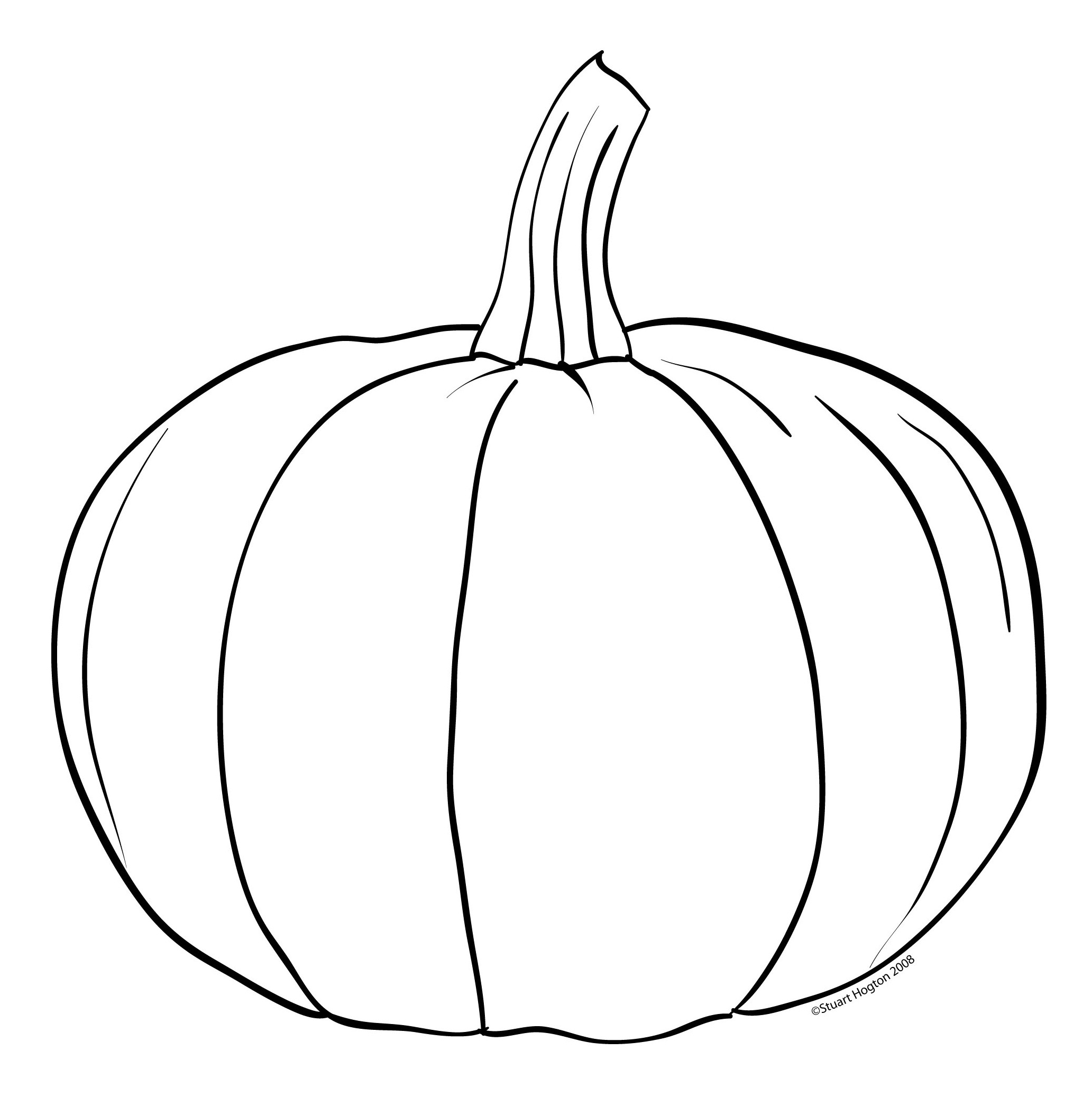 Line Art Images Free : Pumpkin line clipart suggest