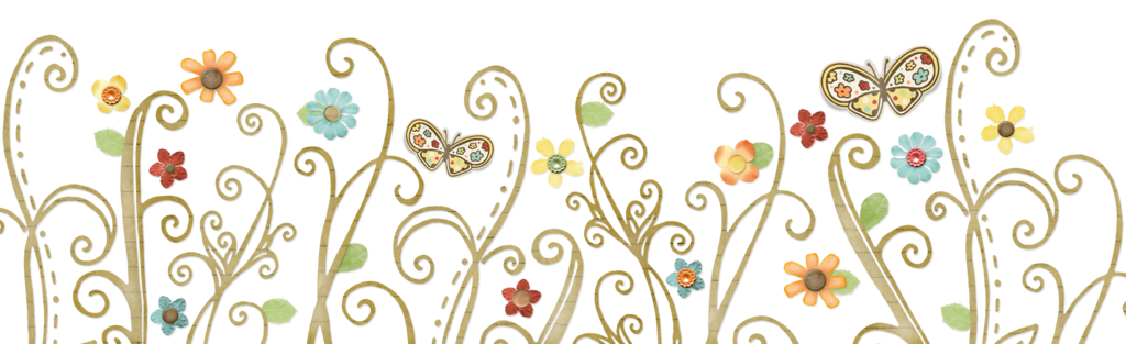 Res  Flowers Swirl Butterflies Png By Hanabell1 On Deviantart